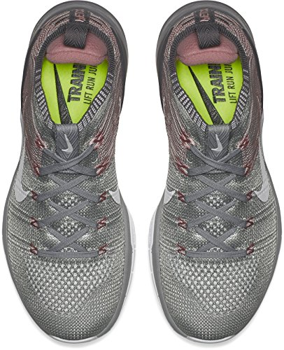 Wmns Dsx Silver Flyknit Donna r 002 Running Scarpe Multicolore White 2 Metcon NIKE Matte EHdBqH