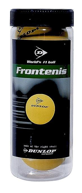 Dunlop Pelotas de Frontenis Bote 3 Bolas: Amazon.es: Deportes y aire libre
