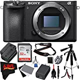 Sony Alpha a6500 Mirrorless Digital Camera (Body Only) International Version (No Warranty) Bundle