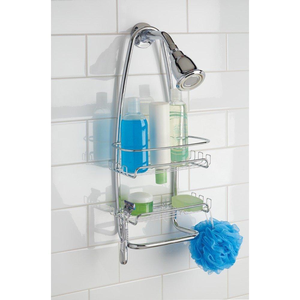 Amazon.com: InterDesign Cora Hanging Shower Caddy – Bathroom Storage ...