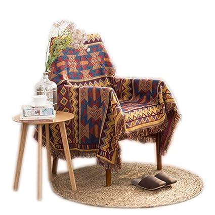 Amazon.com: GSJJ Large Sofa Throws Bohemian Style Durable ...