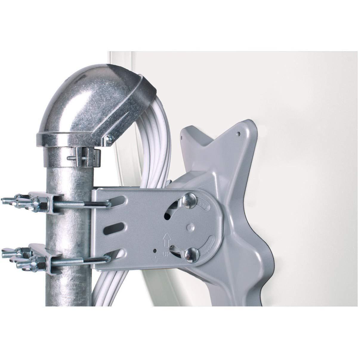 HDSAT Capuchon Mat dantenne en Aluminium Etanch/éit/é Mat Parabole antenne