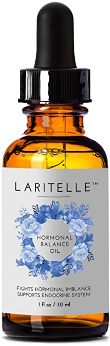 Laritelle Organic Hormonal Balance & Thyroid Support Treatment 1 oz    Fights Hormonal Imbalance,