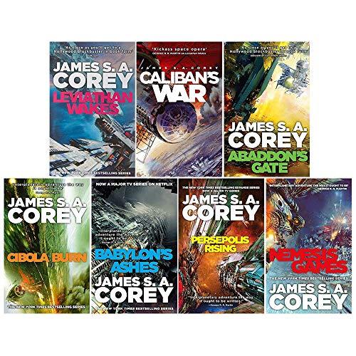 Expanse series 1-7 james s a corey collection 7 books set