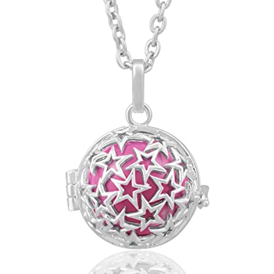 Eudora Harmony Ball Maternity Women Long Chain Necklace 35