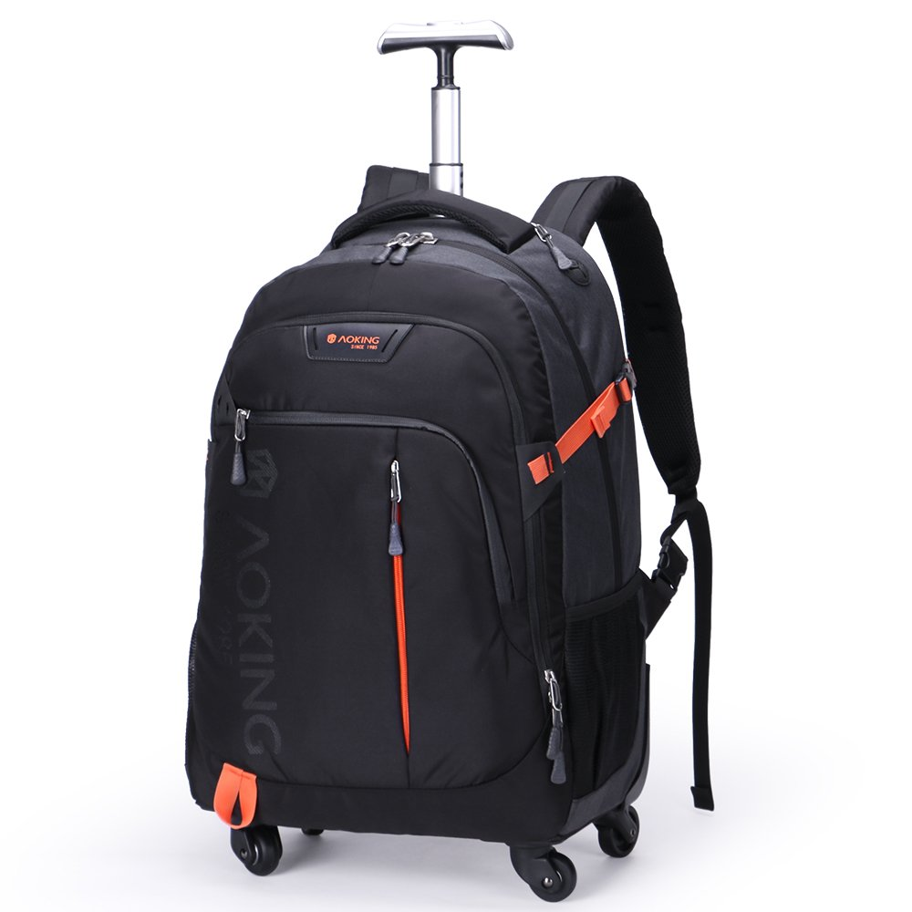 [Aoking] 3WAY キャリーバッグ リュック 軽量 旅行 大型 4 キャスター バッグ スーツ 通勤通学 B07BVT8GTZ S ブラック ブラック S