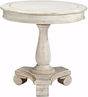 Delicieux Ashley Furniture Signature Design   Mirimyn End Table   Cottage Style Accent  Table   Chipped White