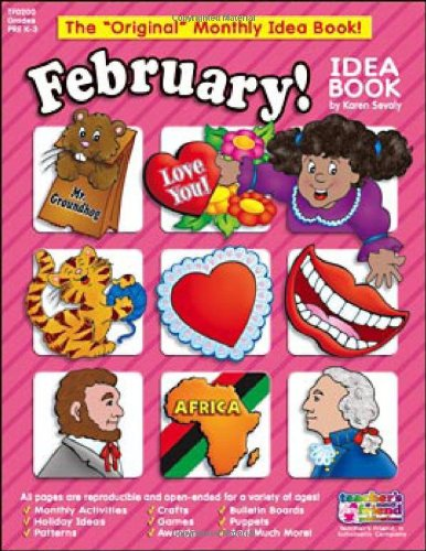 February Monthly Idea Book (Original Monthly Idea (February Monthly Idea Book)