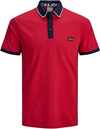 Jack & Jones Jjebasic Polo SS Noos - Camiseta para Hombre: Amazon ...