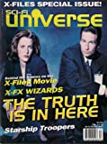 X-FILES MOVE SCI FI UNIVERSE DECEMBER 1997 STARSHIP TROOPERS!