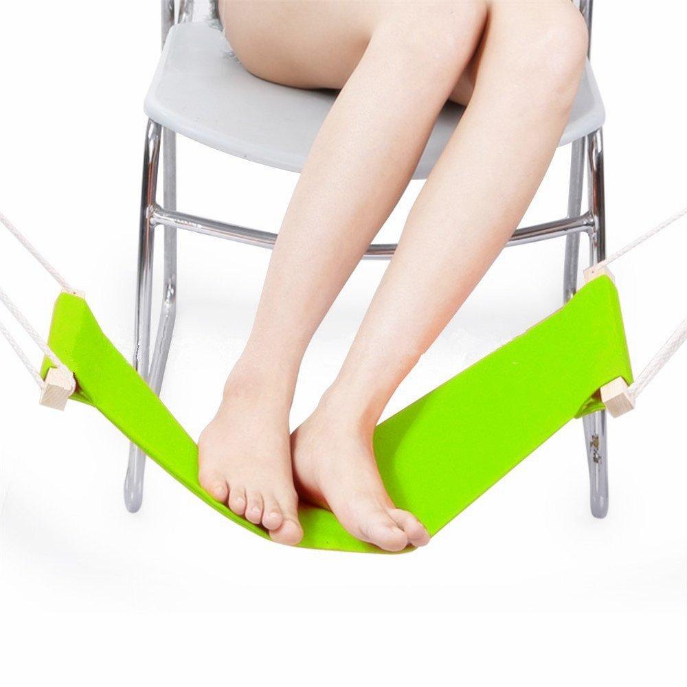 Ergonomico poggia piedi regolabile per un comodo Utility poggiapiedi, poggiapiedi per computer portatile, amaca Style poggiapiedi per casa e ufficio scrivania Esmartlife