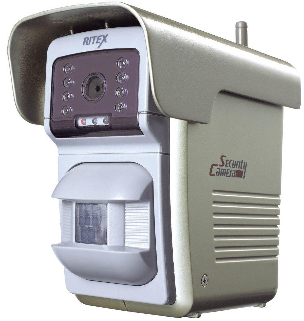 ムサシ RITEX センサー自動撮影録画カメラ(400ショット) リモコン付き C-800 B0022HCN40