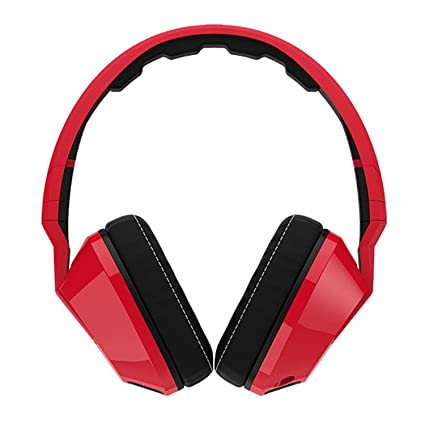 f404d334b92 Image Unavailable. Image not available for. Color: Skullcandy Crusher  Red/Black | Over Ear Headphones ...