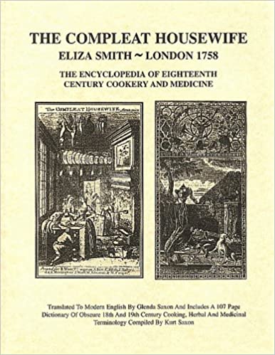 THE COMPLEAT HOUSEWIFE Eliza Smith The Encyclopedia of