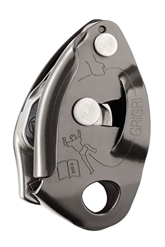 PETZL GRIGRI 2 belay device Gray