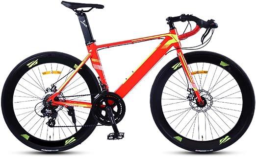 YOUSR Bicicleta de Carretera, Bike de Carretera de Aluminio con ...