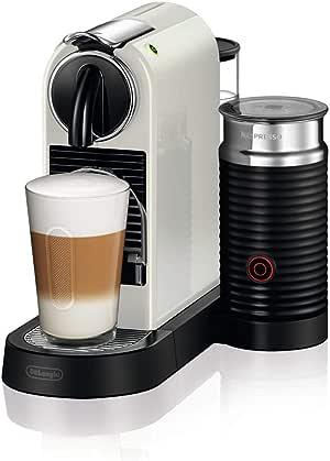 DeLonghi Nespresso Citiz & Milk Coffee Machine, White, EN267WAE