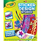 Crayola Sticker Design Studio, Sticker Maker, Gift for Kids, Ages 8, 9, 10, 11, 12