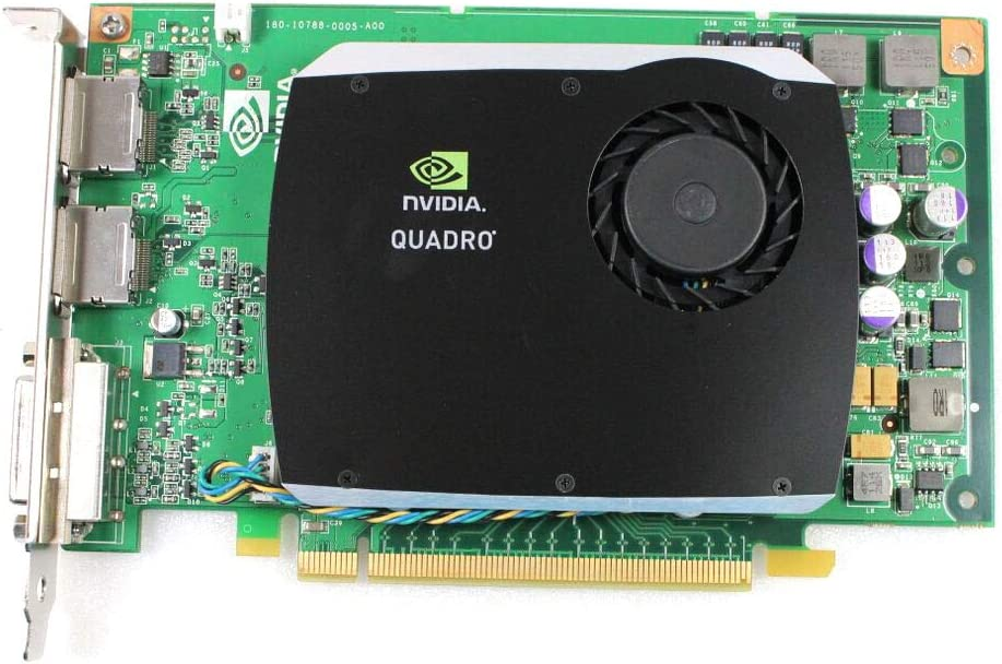 512MB Dell Video Card Quadro FX580 DVI and Dual Display Ports PCI Express x16 FH R784K - HOT ITEM THIS MONTH!!!