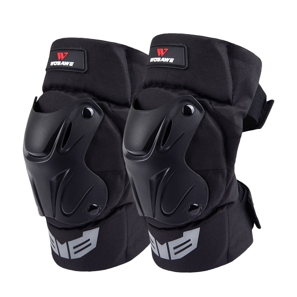 WOSAWE Motorcycle Motocross Cycling Elbow Knee Pads Braces MTB Protective Guards, Knee Guards