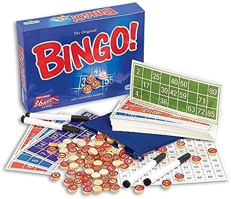 Gibsons Games - Bingo: Gibsons Bingo Game: Amazon.es: Juguetes y juegos