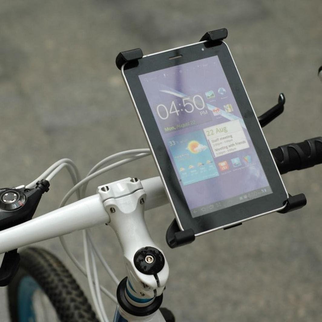 igemy ajustable Tablet PC Soporte cilíndrico soporte fijo para bicicleta soporte, negro: Amazon.es: Deportes y aire libre