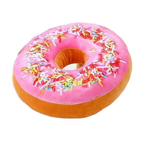 Lorina Peluche gefüllte Donuts plástico Animales Bagel Cojín ...
