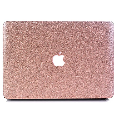Macbook 12'' Case, One Micron Soft-Touch Crystal Smooth Lightweight Macbook Cover for MacBook 12 Inch (A1534) -Rose Golden