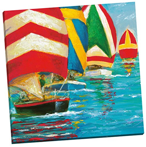 Portfolio Canvas Decor 'Windcatcher One' by Dupre Wrapped and Stretched Canvas Wall Art, 24 x (Dupre Canvas Painting)