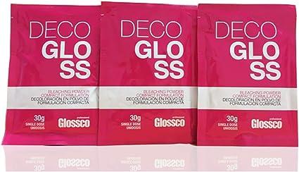 Glossco, Decoloración en Sobre Decogloss 30g: Amazon.es: Belleza
