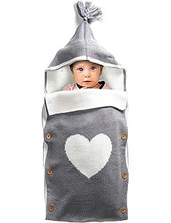 Amazon.com: BUNDLEBEE Manta para bebé, 0-4 meses ...
