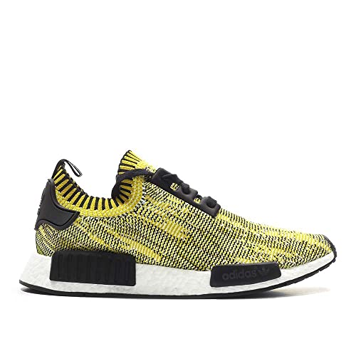 Zapatillas Adidas - NMD Runner Primeknit Negro/Negro/Amarillo Talla: 41-1/3: Amazon.es: Zapatos y complementos