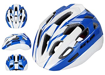 GUB cqjdg profesional de alta calidad casco de ciclismo para niños ligero ciclismo equipo de seguridad, azul y blanco: Amazon.es: Deportes y aire libre