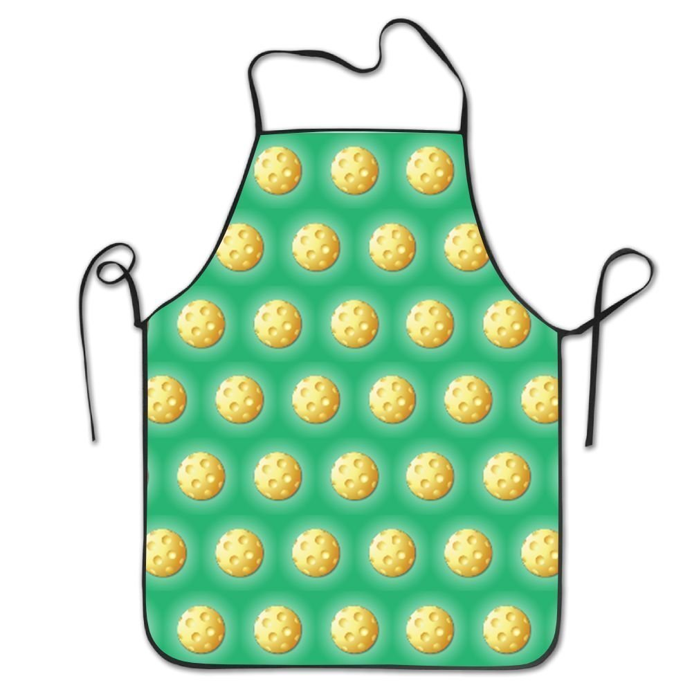 Pickleball Sport Overhand Apron Funny Personalization Pinafore Cooking Prepare For Family Woman One Size Polyester XUJIAN