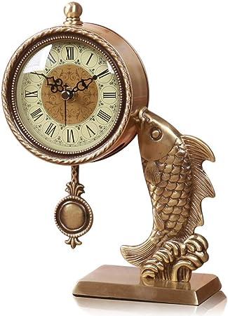 Reloj LWF Mesa para Sala de Estar Decoración para el hogar ...