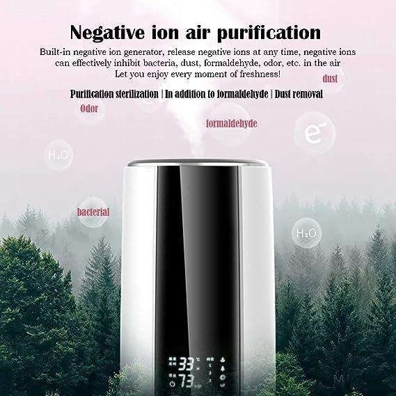 RXBFD Purificadores de Aire Purificador de Aire, Filtro HEPA, Difusor de Aroma silencioso, Sistema de filtración del ...