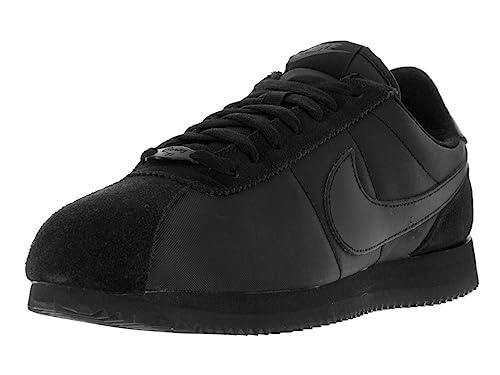 Buy Nike Men's Cortez Basic QS 1972, Black/Black-Anthracite ...