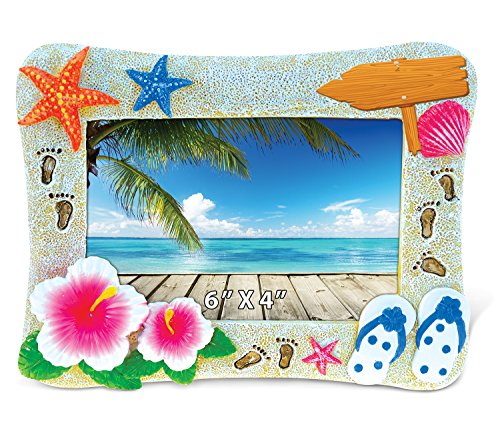 Tropical Beach Photo - Puzzled Tropical Summer Photo Frame 4