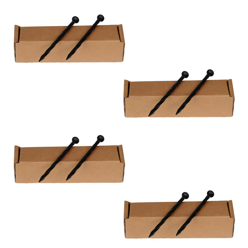 Dimex EasyFlex Plastic 24 Count Spiral Nylon Landscape Anchoring Spikes, 8-Inch, (4 Pack)