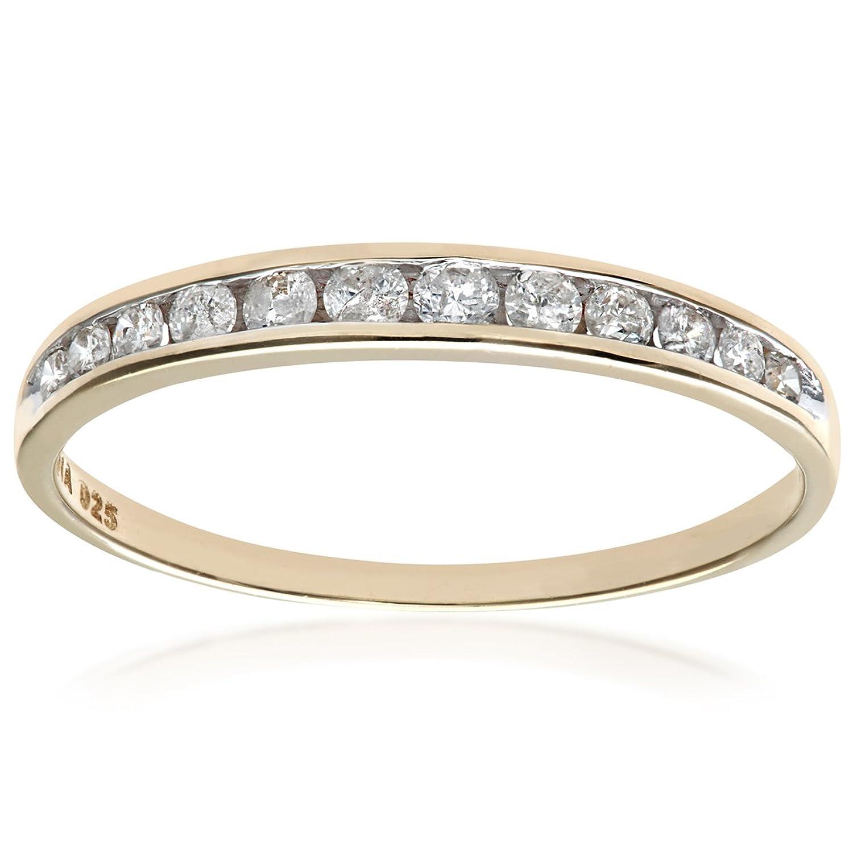 Naava Bague Anillo para Mujer de Oro K con Diamantes  ct