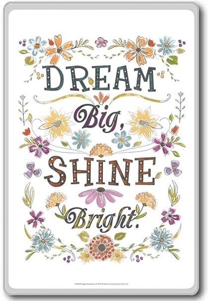Amazon.com: Dream Big, Shine Bright - Motivational Quotes ...