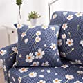 HOTNIU Stretch Sofa Slipcover 1-Piece Polyester Spandex Fabric Couch Cover Chair Loveseat Furniture Protector Covers 1/2/3/4Seat Sofas