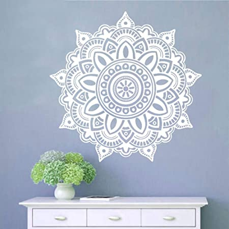 LUANQI Mandala extraíble Yoga Decoraciones para el hogar Vinilo ...