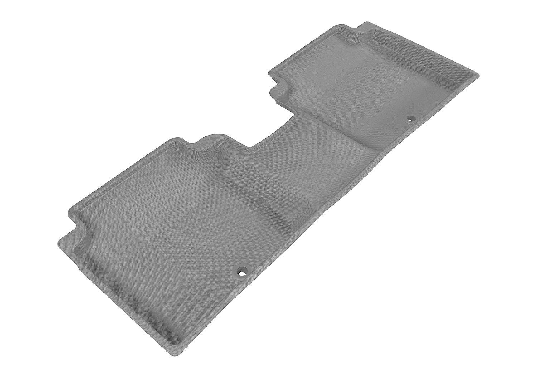 Black L1HY05201509 3D MAXpider Custom Fit Complete Floor Mat Set for Select Hyundai Elantra Models Kagu Rubber