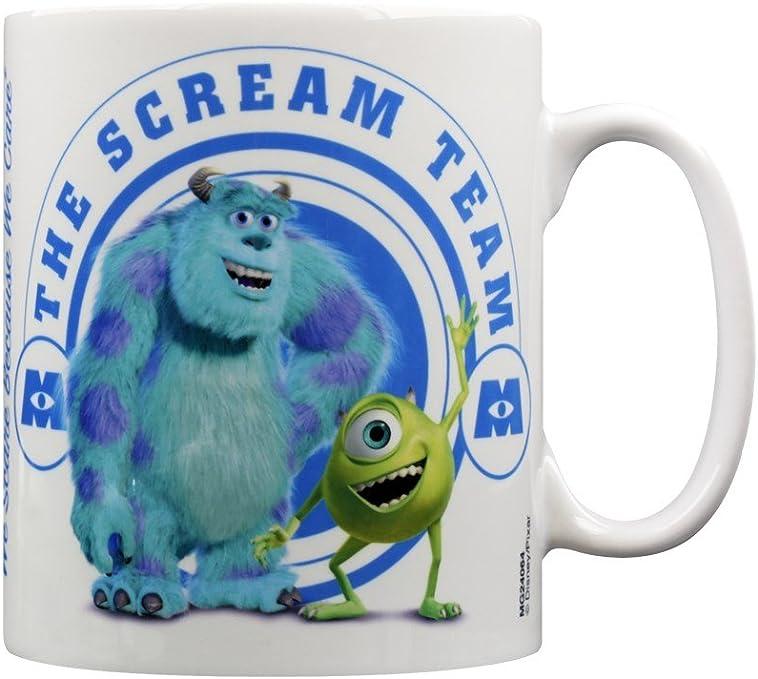 Officiel Pixar Monstres Scream Réservoir En Forme De Chaleur Changement Tasse