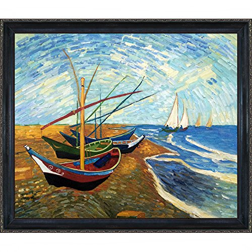 Compare price to boat canvas painting