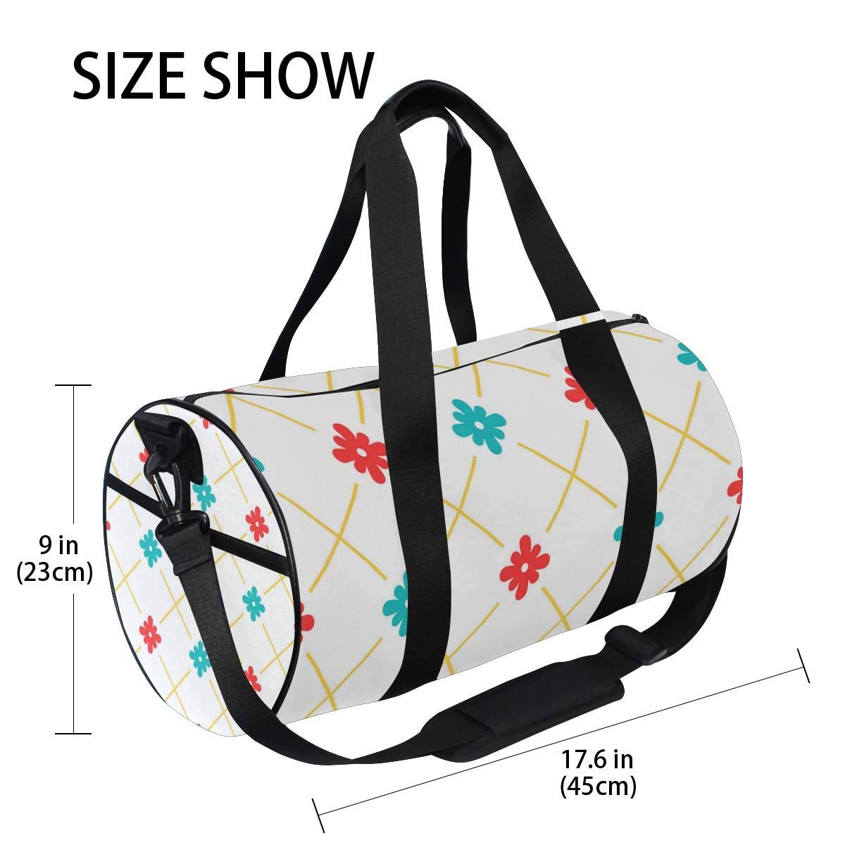 White Square Ceramic PictureWaterproof Non-Slip Wearable Crossbody Bag fitness bag Shoulder Bag
