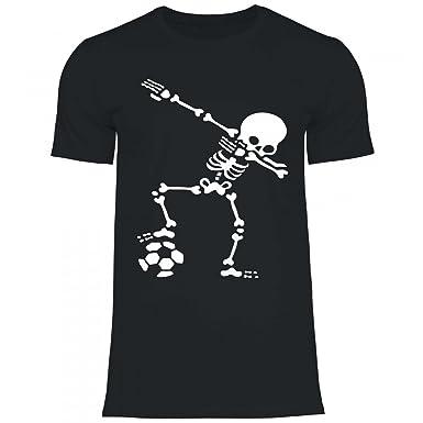 035f88678a8295 Royal Shirt df1 Herren T-Shirt Dabbing Skelett Fußball