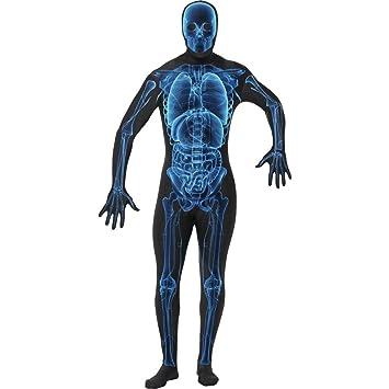 NET TOYS Traje Efecto Rayos x Disfraz Esqueleto Vestuario ...