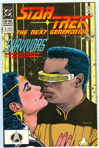 Serafin's Survivors - (Star Trek: The Next Generation, No. 5; Feb. 1990)